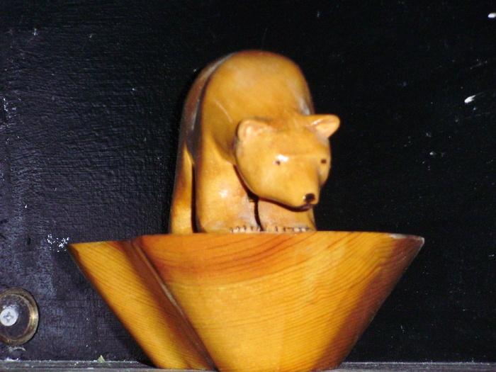 Polar Bear  Wood Carvings