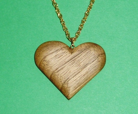 Butternut Necklace Wood Carvings