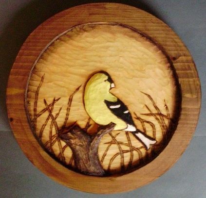 Look Through Our  Sample  Song Bird Medallions under More Hand Carved Song Bird Reliefs Wood Carvings