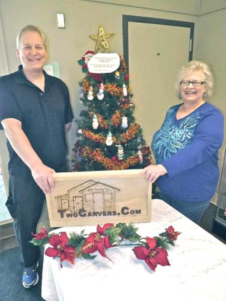 Local woodcarvers' Christmas ornaments help charitable efforts By RICK OLIVO Staff Writer Wood Carvings